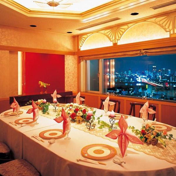 新大阪ワシントンホテル チャイナテーブル